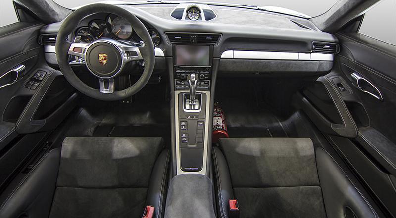 como restaurar tapizado Porsche