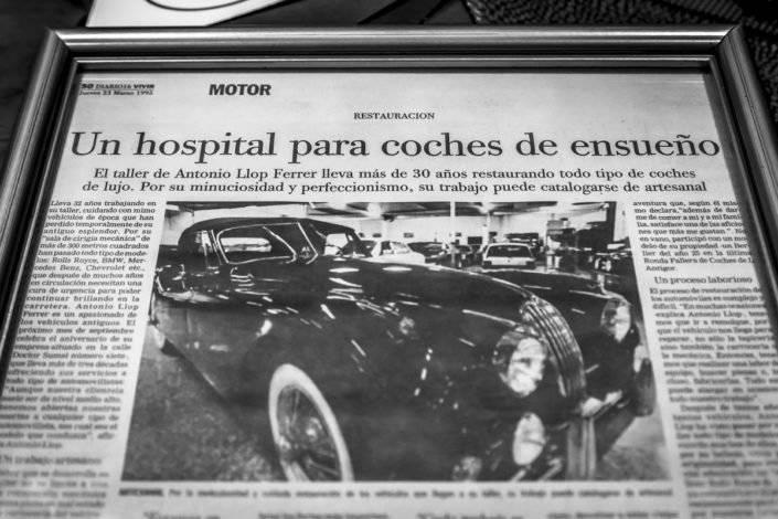 restauracion coches clásicos
